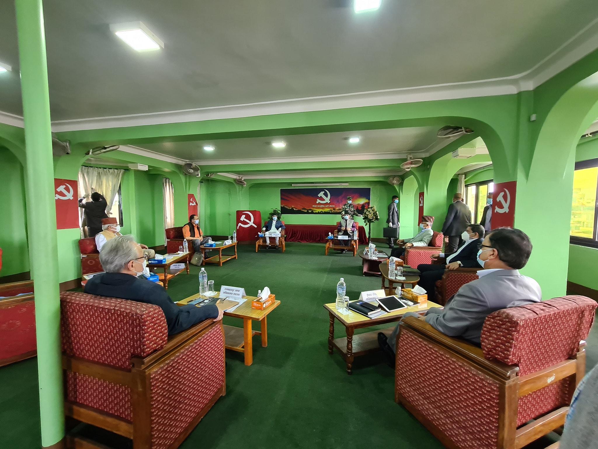 प्रचण्ड-नेपाल समूहले बोलायो स्थायी कमिटी बैठक