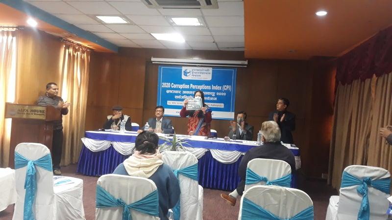 नेपाल भ्रष्टाचार व्याप्त मुलुकको श्रेणीमै