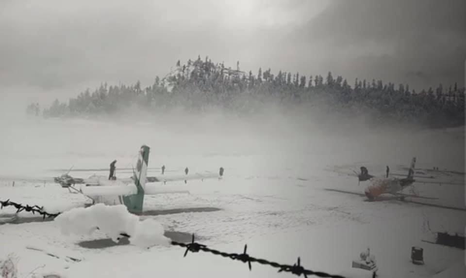 हुम्लामा हिमपात, फोटोमा हेर्नुस्