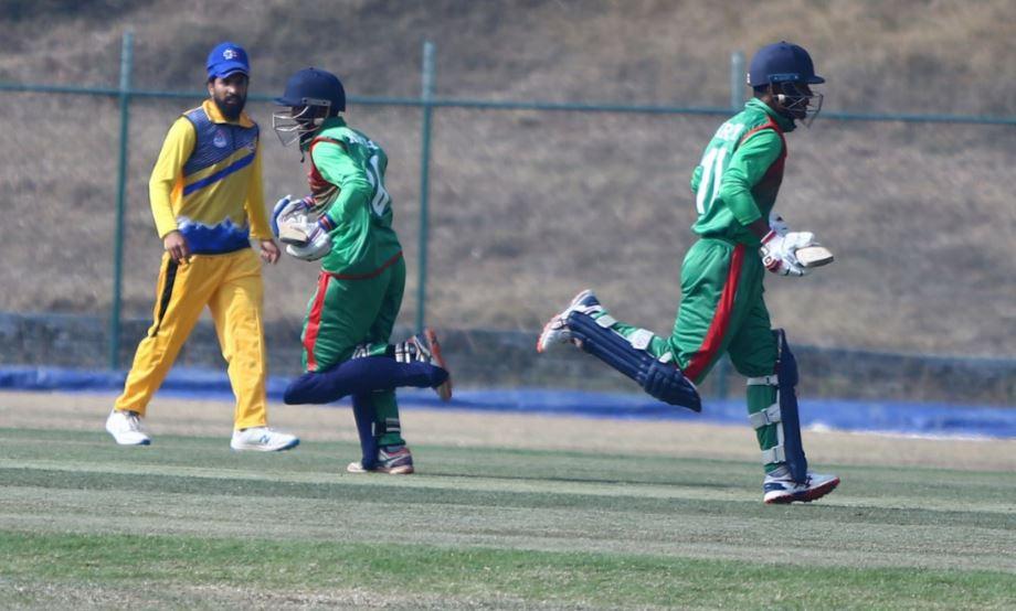 प्रधानमन्त्री कप क्रिकेटमा विभागीय टोली पुलिस र एपिएफ विजयी