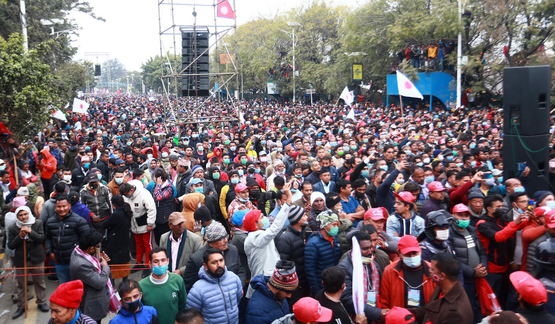 प्रचण्ड-नेपाल समूहले आज देशभर खुसीयाली सभा गर्ने