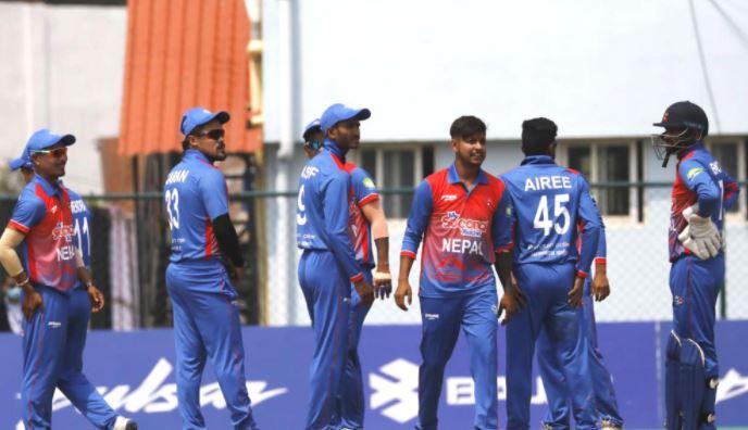 त्रिकोणात्मक ट्वान्टी २० क्रिकेटमा नेपालद्वारा नेदरल्यान्ड्स पराजित