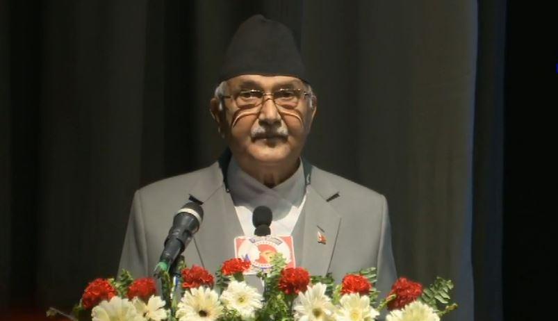 माधव नेपालका लागि पार्टीमा कुनै ठाउँ छैनः अध्यक्ष ओली