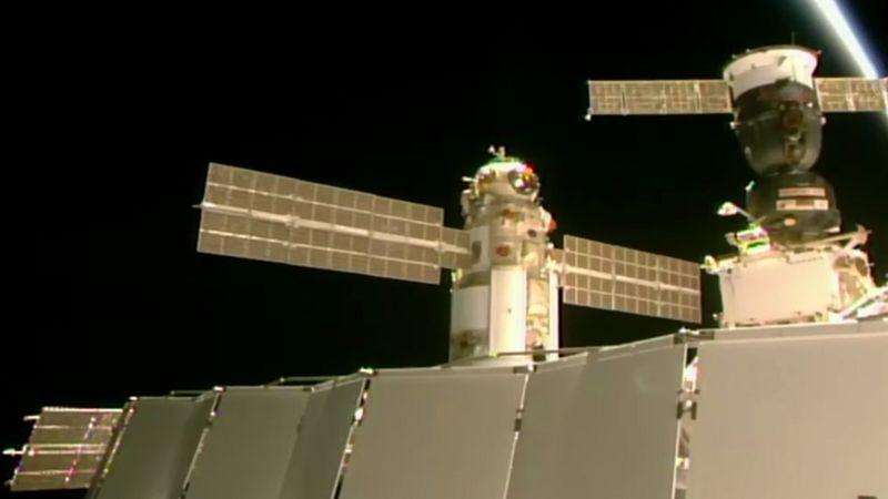 रुसी मोड्यूलको इन्जिन अचानक चालु हुँदा अन्तर्राष्ट्रिय अन्तरिक्ष केन्द्रमा असन्तुलन