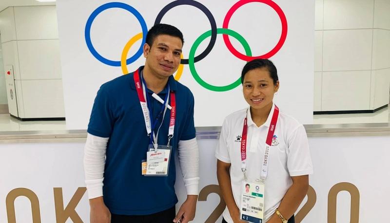 ओलम्पिकमा सरस्वती चौधरी पहिलो चरणबाटै बाहिरिइन्
