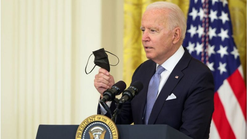 कोभिडको खोप लगाउनेलाई १०० डलर दिने अमेरिकी राष्ट्रपतिको घोषणा