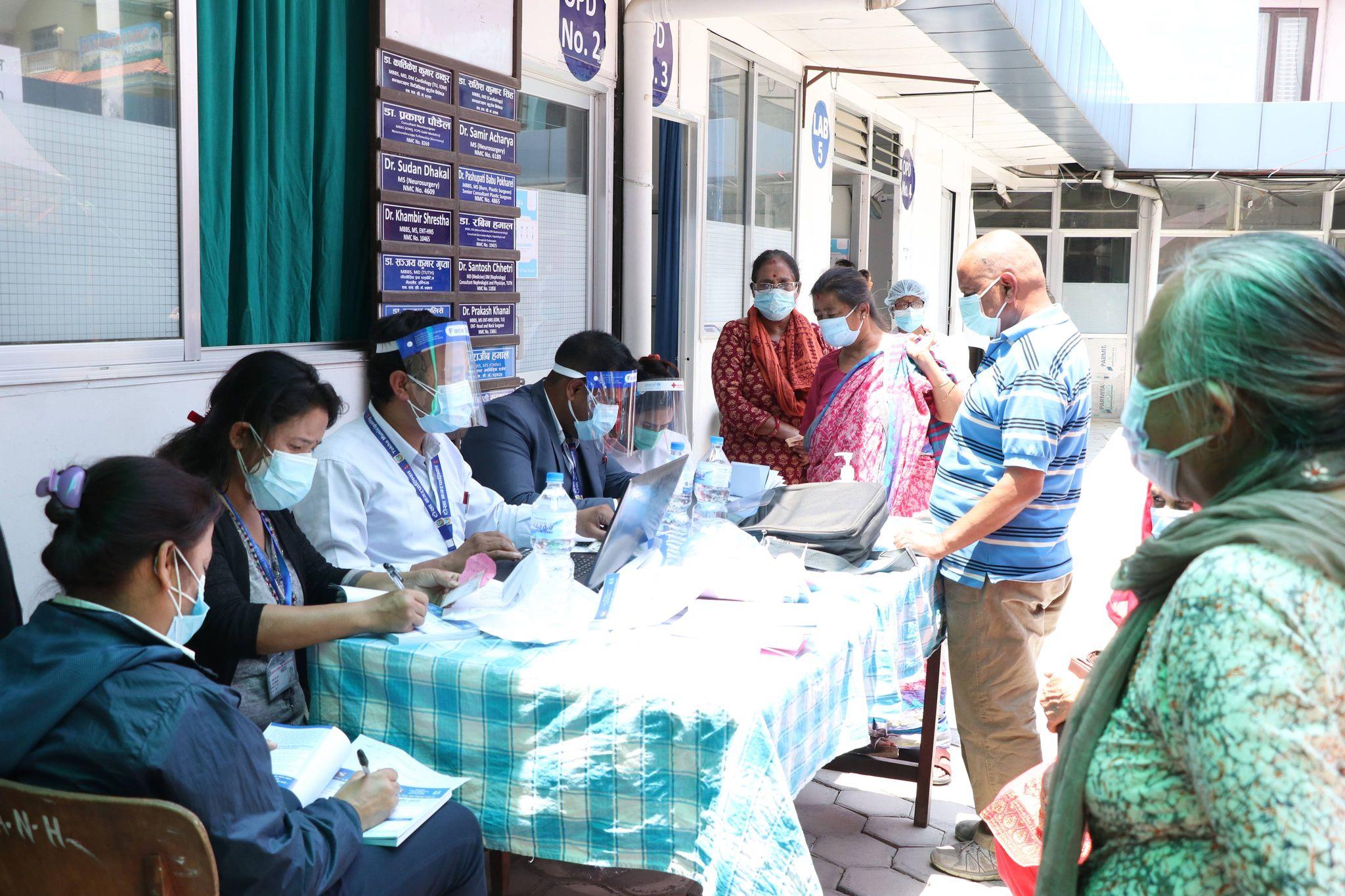 काठमाडौंमा ५० वर्ष माथिकालाई चार दिन खोप अभियान संचालन हुने