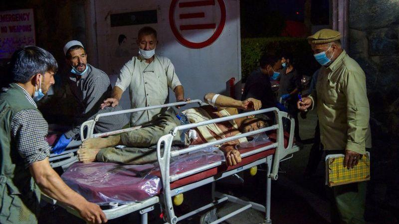काबुल अन्तर्राष्ट्रिय विमानस्थलबाहिर भएको विस्फोटमा ६० भन्दा बढीको मृत्यु